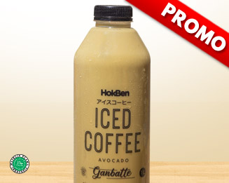 PROMO ICE AVOCADO COFFEE 500 ML