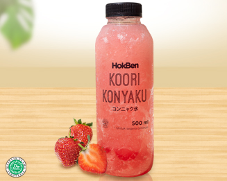 KOORI KONYAKU STRAWBERRY 500 ML