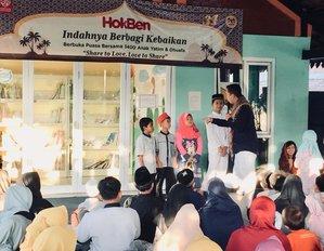 Berbagi Kebaikan : Buka Puasa Bersama Anak Yatim & DhuafaSharing the Goodness : Iftar with Orphans & Dhuafa