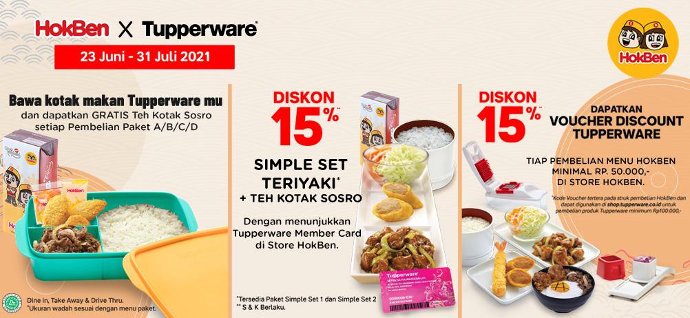 HokBen X Tupperware