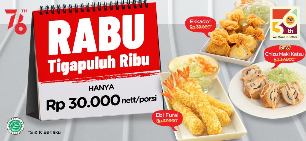 PROMO RABU Rp.30.000*