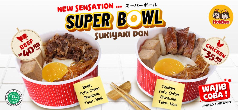 SUPER BOWL SUKIYAKI BOWL